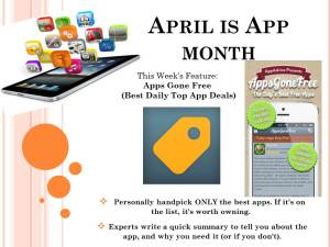 April is App FEATURED month 04072014