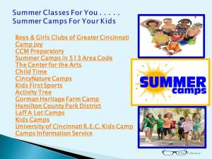 Summer Camps Blue 05152013