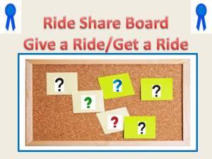 Rideshare Board 07232013