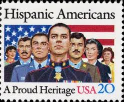 Hispanic Heritage Month 20 cent stamp 09122013